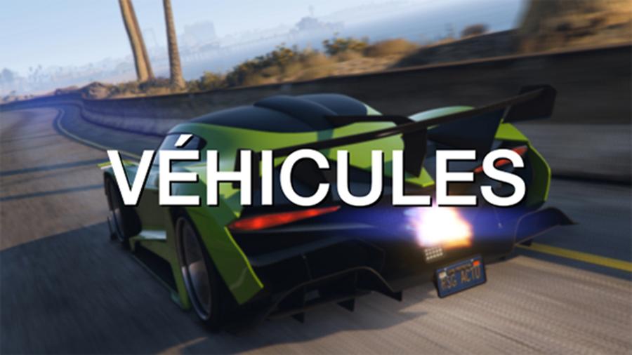 Véhicules de GTA Online