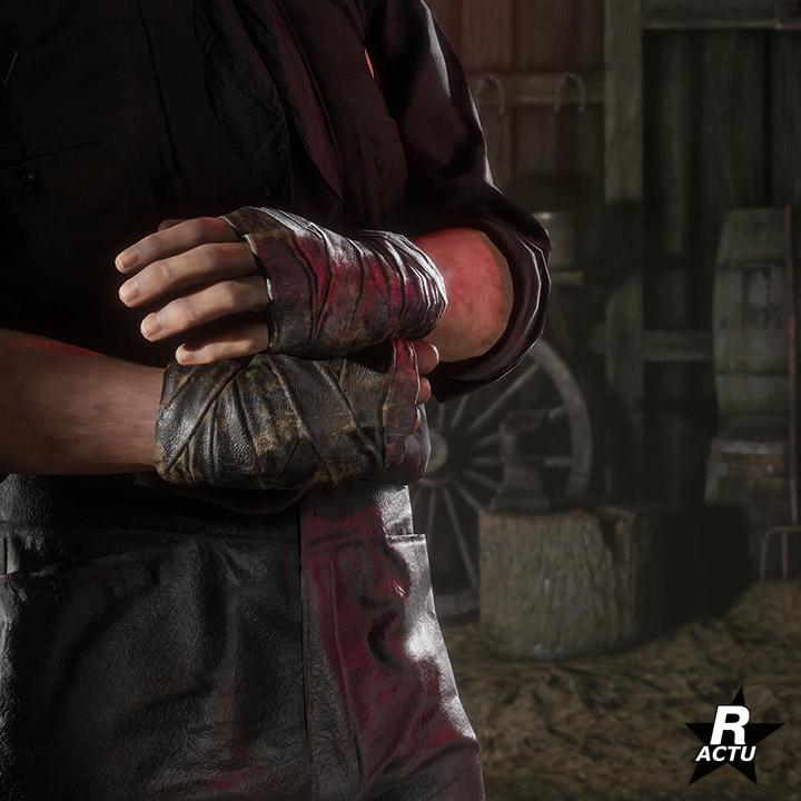 Bandages pour les mains spéciales halloween - Red Dead Online