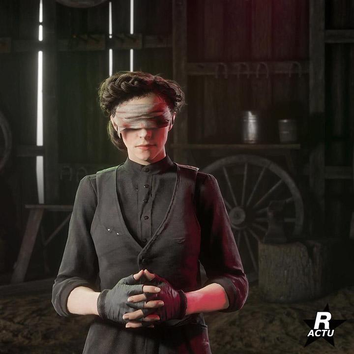 Bandage pour les yeux spéciale halloween - Red Dead Online