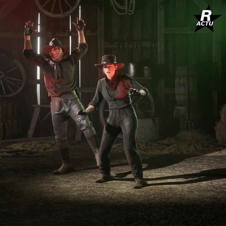 Interaction Spooky - Passe de hors-la-loi halloween 2020 - Red Dead Online