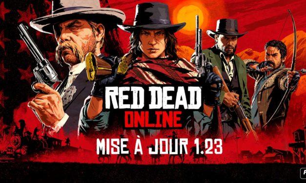 Nouvelle mise à jour corrective de Red Dead Online sur console et PC