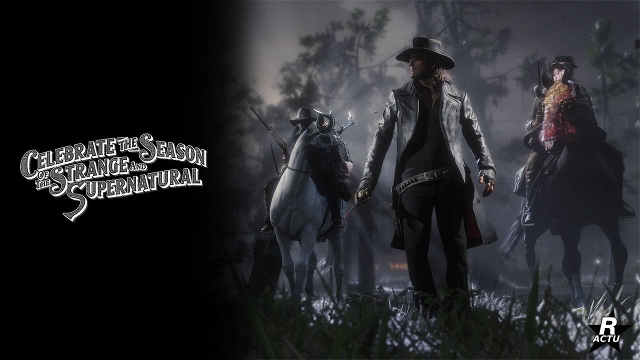 Passe de hors-la-loi spécial halloween - Red Dead Online