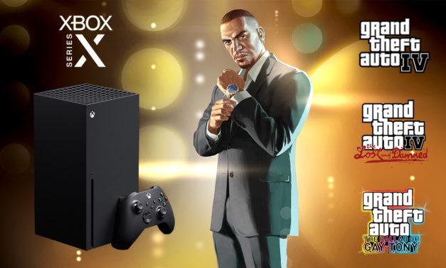 GTA 4 tourne en 60 images/seconde sur Xbox Series X