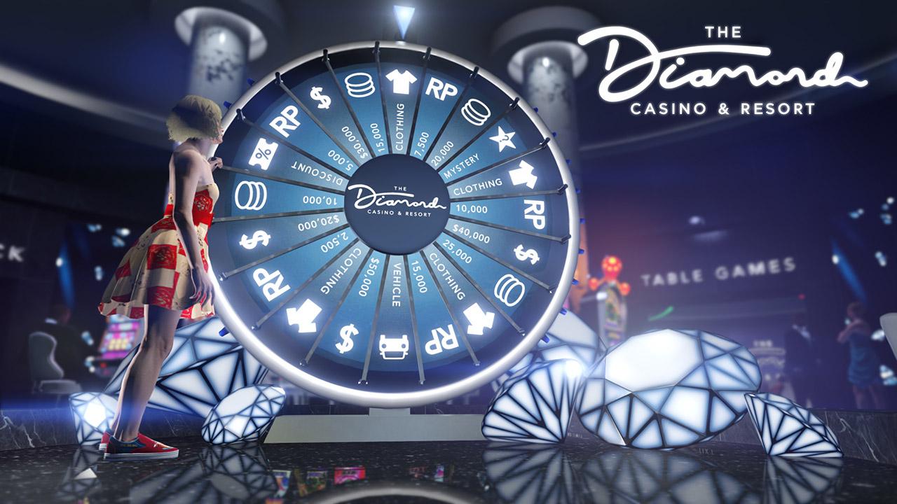 Roue de la fortune du casino - GTA Online