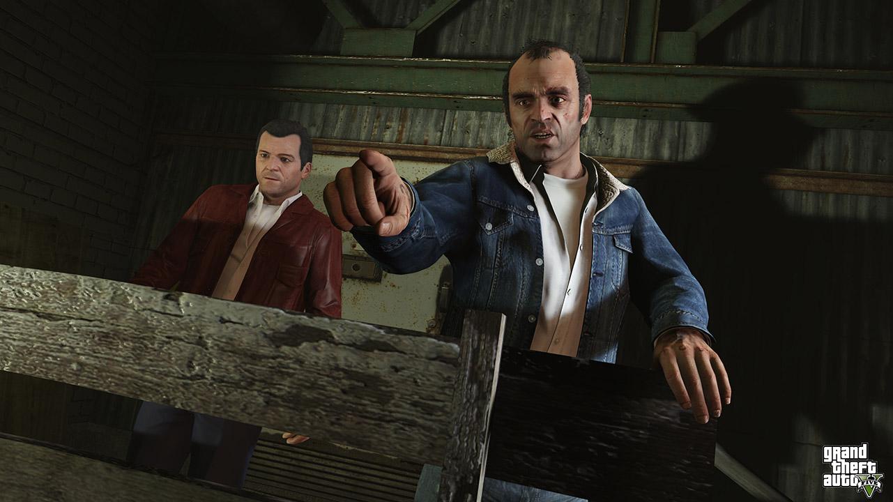 Trevor et Michael - GTA 5