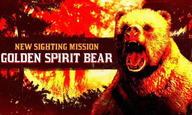 L'ours esprit doré légendaire débarque sur Red Dead Online avec des gains d'XP doublés
