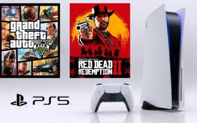 PS5 : Des chargements plus rapides pour GTA 5 et Red Dead Redemption 2