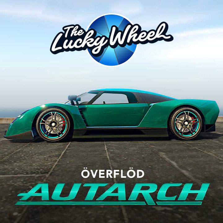 Véhicule du podium - Overflod Autarch - GTA Online
