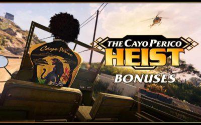 GTA Online : Mode rivalité Vol au détalage doublé cette semaine et bonus du braquage de Cayo Perico