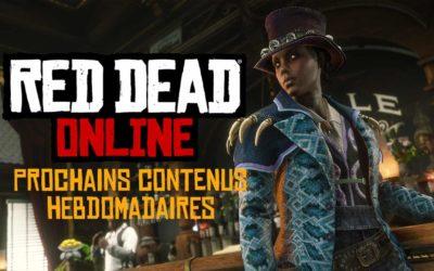 Red Dead Online : Nouvelles primes légendaires et passe de hors-la-loi 5 pour ces prochaines semaines