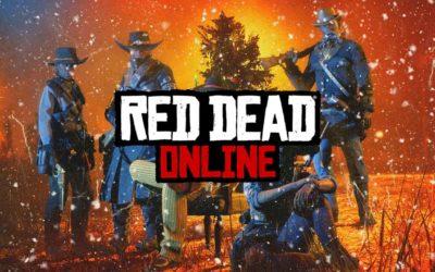 Red Dead Online : Nouvelle prime légendaire et contenu de Noël disponible
