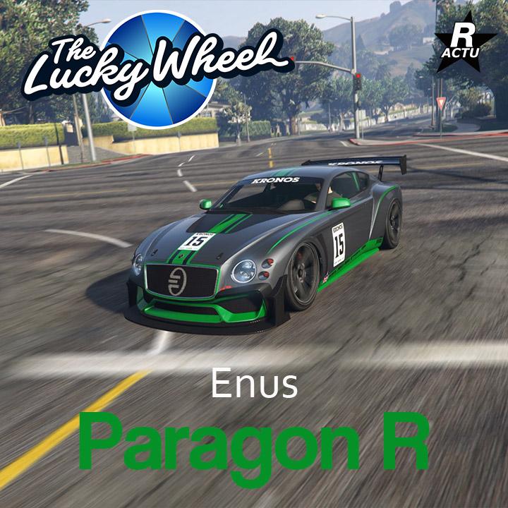 Véhicule du podium - Paragon R - GTA Online