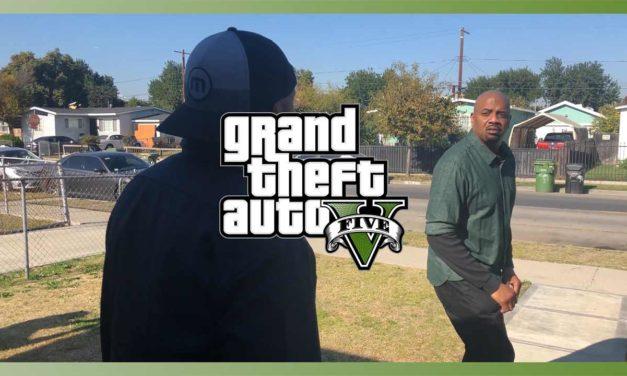 GTA 5 : Des acteurs du jeu reproduisent une cinématique dans le monde réel
