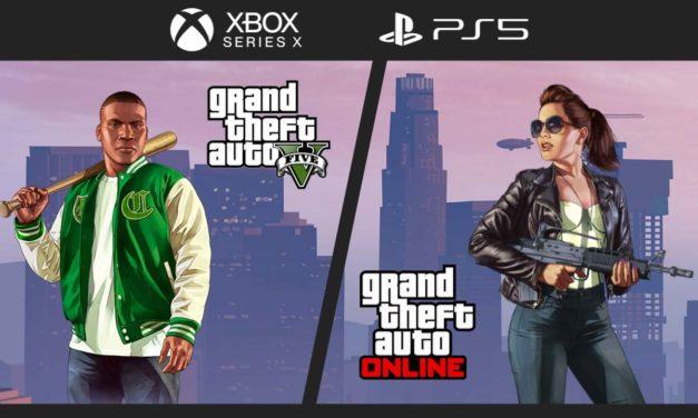 GTA 5 et GTA Online : Des nouvelles infos sur les versions PS5 et Xbox Series X S