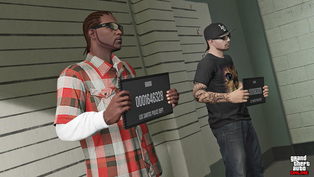 Choix du personnage sur GTA Online