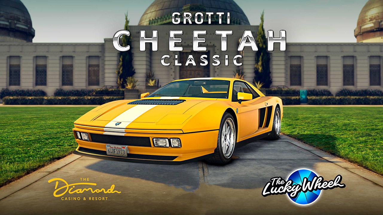 Grotti Cheetah classique - GTA Online