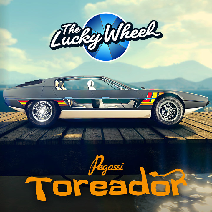 Voiture du podium - Pegassi Toreador - GTA Online