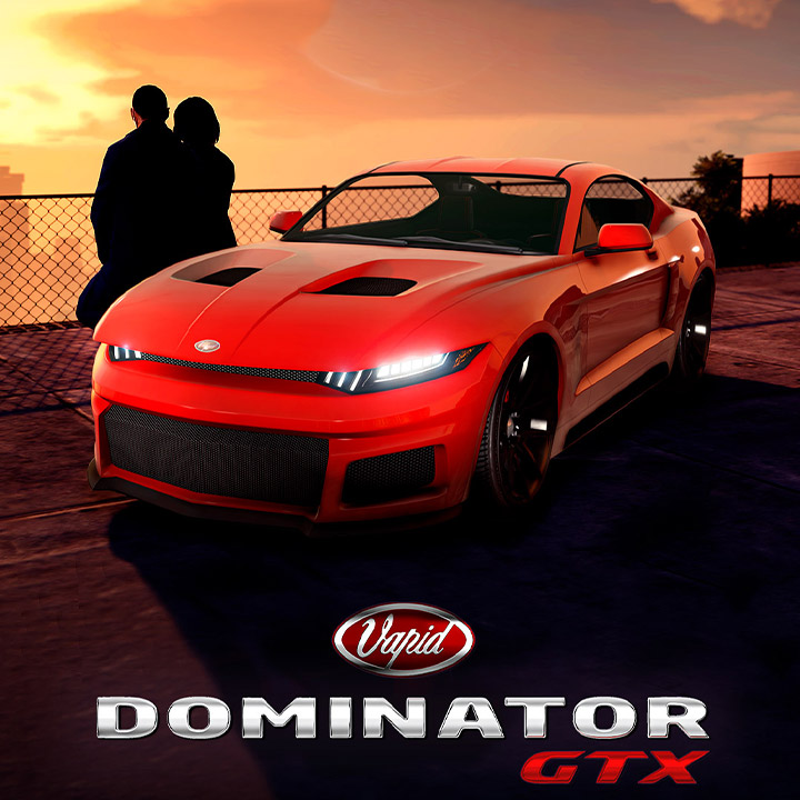 Voiture du podium - Vapid Dominator GTX - GTA Online
