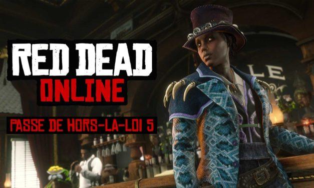 Red Dead Online : Le passe de hors-la-loi №5 est disponible