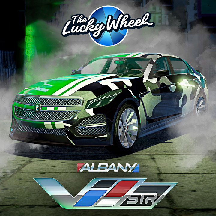 Albany V-STR - GTA Online