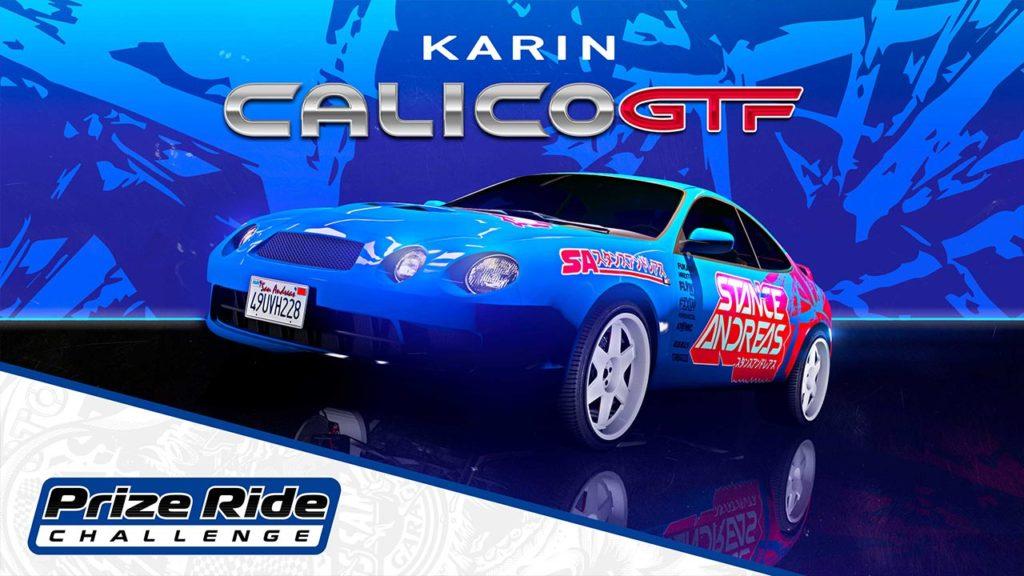 Karin Calico GTF - Voiture du podium du Car Meet - GTA Online